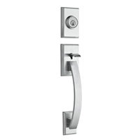 Kwikset - 800TVH - Tavaris - Single Cylinder Entry Handleset with SmartKey