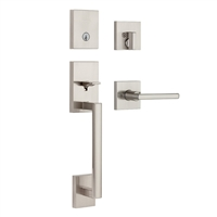 Kwikset - 818SCE - San Clemente - Single Cylinder Entry Handleset with Halifax Lever & SmartKey