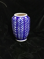 DECOR MARKET - INCA VASE - FRONDS - ACCENT DECOR