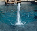 A&A Manufacturing SplashDown Fountain Complete - Water Jet (Concrete)