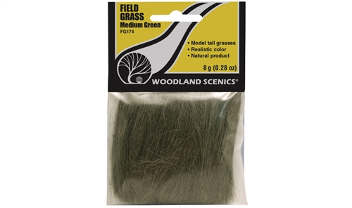Woodland Scenics Field Grass [Medium Green]