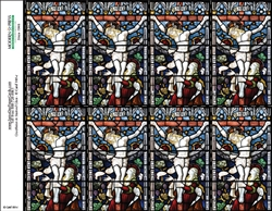 101-c Crucifixion in Stained Glass