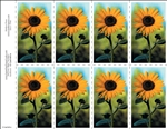 601-n Sunflower 8-Up Prayer Card