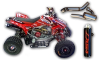 Honda TRX450 Exhaust & Intake Package (04-05)