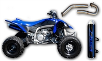 Yamaha YFZ450R Exhaust, Intake, & MSD Fuel Controller Package