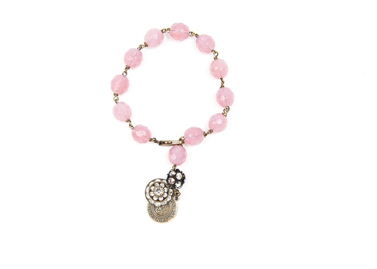 Ballerina Corrine Love Links Bracelet - Support BCA