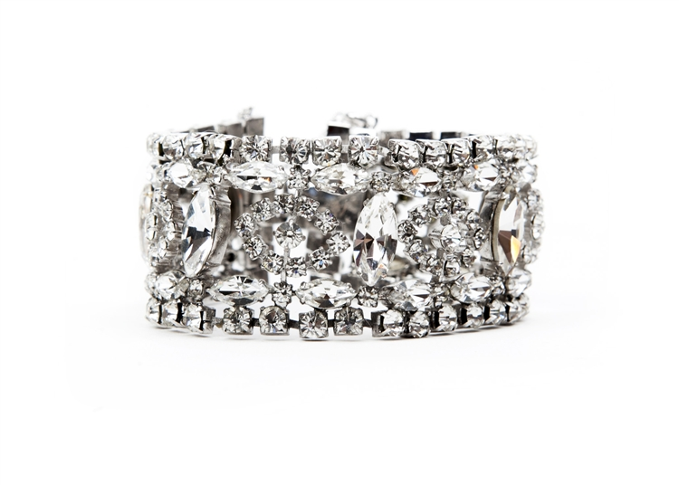 SV Couture Wide Antique Bracelet