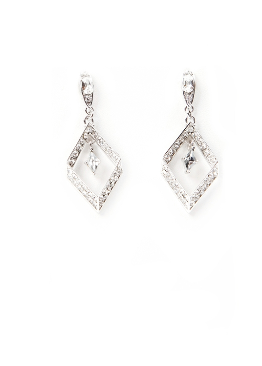 SV Couture Diamond Drop Earrings