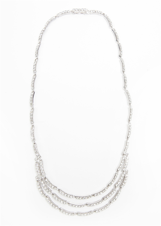 SV Couture Triple Strand Necklace