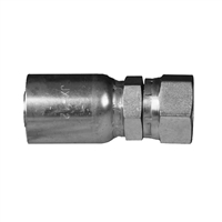37 degree JIC R5 textile cover hose end fitting