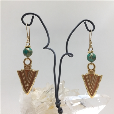 Arrowhead Earrings