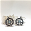 Compass earrings Uncommon Adornments