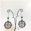 Compass Earrings, Large