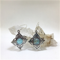 Celtic Diamond Earrings