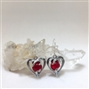 Heart Earrings Uncommon Adornments