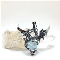 Large Warrior Dragon Necklace