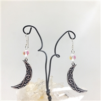 Celtic Moon Earrings
