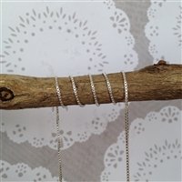 Sterling Silver Box Chain 1mm