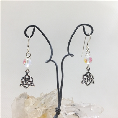 Trinity Heart Earrings