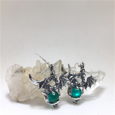 Warrior Dragon Earrings Uncommon Adornments