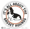 Basset Hound Decal