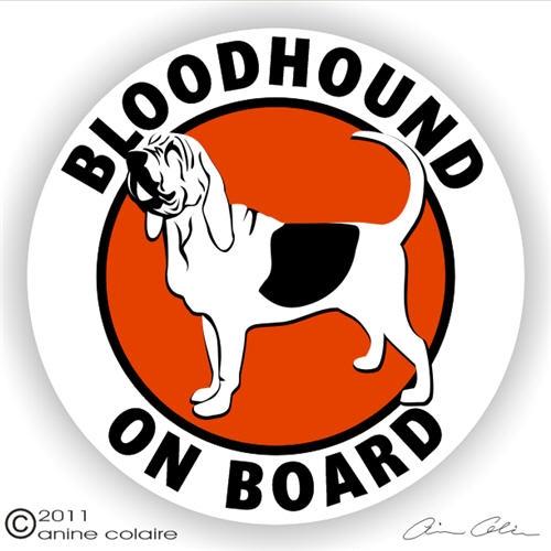 Bloodhound Decals & Stickers - NickerStickers