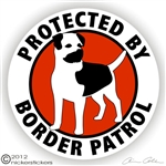 Border Terrier Decal