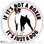 Boxer Decal