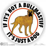 Bullmastiff Decal