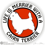 Cairn Terrier Decal