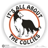 Collie Decal