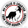 Scottish Collie Dog Car Truck RV Decal Sticker Static Cling