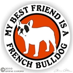 French Bulldog Decal