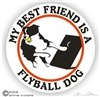 Flyball Dog Decal