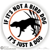 Bird Dog Decal
