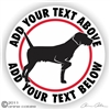 German Wirehair Pointer Decal