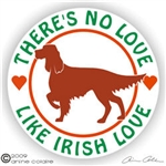 Irish Setter Decal