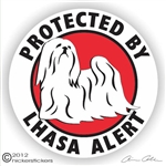 Lhasa Apso Decal