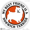 Norwich Terrier Decal
