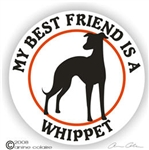Whippet Decal