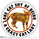 Bengal Cat Decal