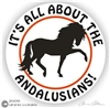 Andalusian Horse Decal