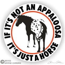 Appaloosa Decal