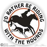 Foxhunt Horse Trailer Decal