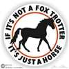 Fox Trotter Decal