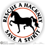 Hackney Vinyl Decal