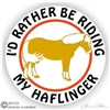 Haflinger Vinyl Decal