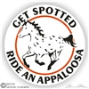 Appaloosa Leopard Decal