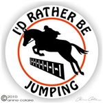 Jumper Trailer Decal