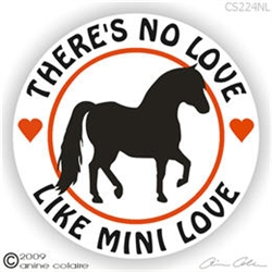 Miniature Horse Vinyl Decal